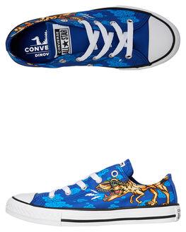 BLUE KIDS BOYS CONVERSE SNEAKERS - 664247CBLU