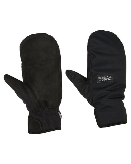 BLACK BOARDSPORTS SNOW POW GLOVES - ZEM-C-S-HIP-BKBLK