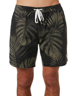 CLOVER PALMS MENS CLOTHING DEUS EX MACHINA BOARDSHORTS - BDMS82629CLOV