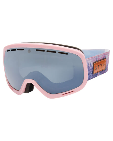 NATIVE NATURE PINK BOARDSPORTS SNOW SPY GOGGLES - 313013920461NPNK