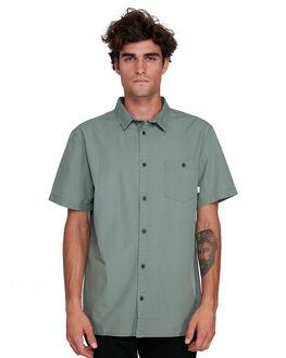 AGAVE GREEN MENS CLOTHING QUIKSILVER SHIRTS - EQYWT03908-GZC0