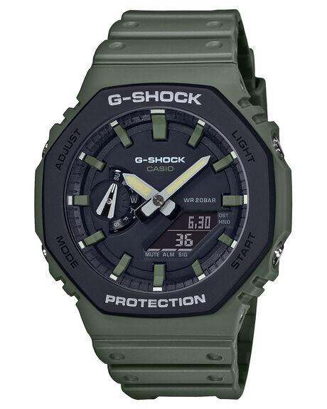 KHAKI BLACK MENS ACCESSORIES G SHOCK WATCHES - GA2110SU-3AKBLK