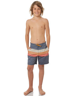 NAVY KIDS BOYS BILLABONG BOARDSHORTS - 8581406NVY