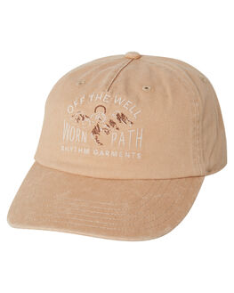 CAMEL MENS ACCESSORIES RHYTHM HEADWEAR - APR19M-CP02-CAM