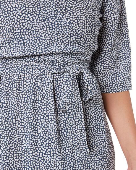 MAPLE NAVY WOMENS CLOTHING LILYA DRESSES - RVD2070-MP
