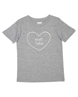 GREY MARLE KIDS TODDLER BOYS TEE INK TEES - KT1027GRYM