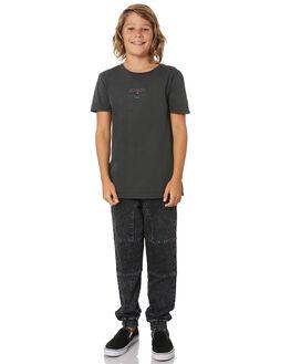 BLACK KIDS BOYS ST GOLIATH TOPS - 2432000BLK