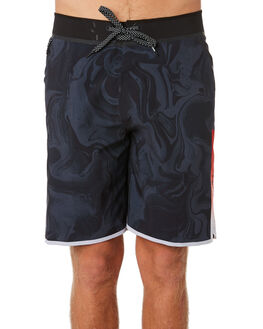 BLACK MENS CLOTHING RIP CURL BOARDSHORTS - CBOOE90090