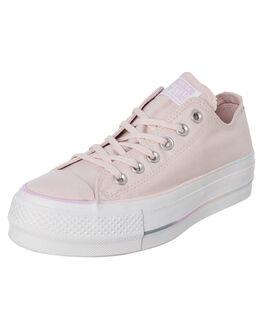 BARELY ROSE WOMENS FOOTWEAR CONVERSE SNEAKERS - 566354CBROSE