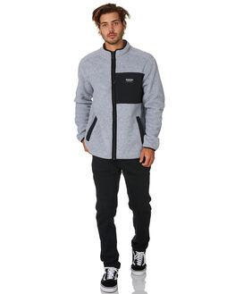 GREY BLACK MENS CLOTHING BURTON JUMPERS - 20829101020