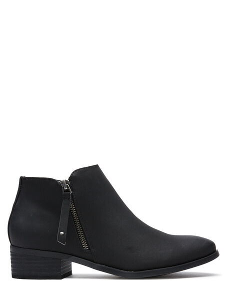 BLACK WOMENS FOOTWEAR THERAPY BOOTS - 9573BLK