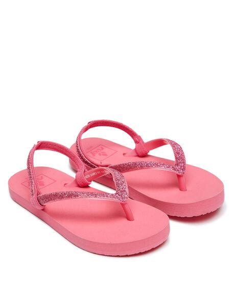 HOT PINK KIDS GIRLS REEF THONGS - 2080HPK