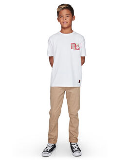 OPTIC WHITE KIDS BOYS ELEMENT TOPS - EL-307006-OTW