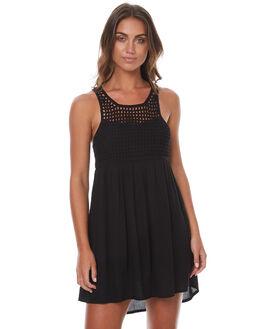 BLACK WOMENS CLOTHING BILLABONG DRESSES - 6562487BLK
