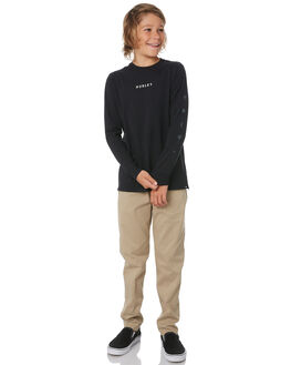 BLACK KIDS BOYS HURLEY TOPS - AB5451010