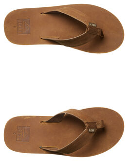 BRONZE BROWN MENS FOOTWEAR REEF THONGS - A2YFRBZB
