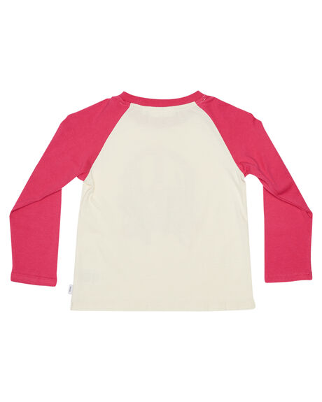 WHITE PINK KIDS GIRLS PUMPKIN PATCH TOPS - 20TG8004TWHTPK