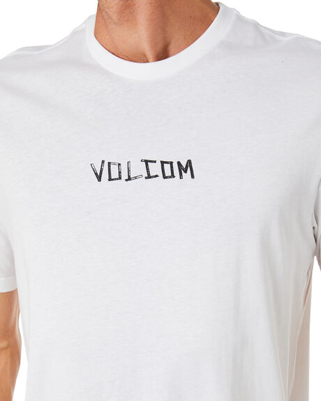 WHITE MENS CLOTHING VOLCOM TEES - A5002014WHT
