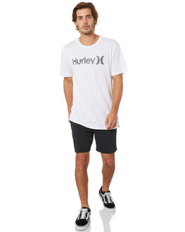 BLACK MENS CLOTHING HURLEY SHORTS - CI7345010