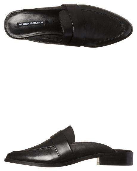 bbcd05d3fa6b BLACK WOMENS FOOTWEAR WINDSOR SMITH SLIDES - NEVEBLK
