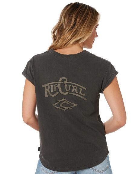 NINE IRON WOMENS CLOTHING RIP CURL TEES - GTECQ24285