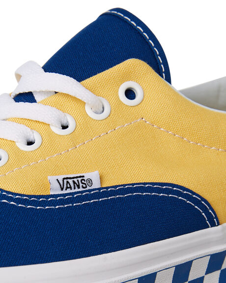 TRUE BLUE YELLOW OUTLET MENS VANS SNEAKERS - VNA38FRU8IYEL