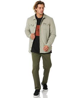 PUMICE MENS CLOTHING GLOBE JACKETS - GB02034007PUM