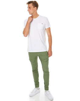 KHAKI MENS CLOTHING NENA AND PASADENA PANTS - NPMFP001KHAK