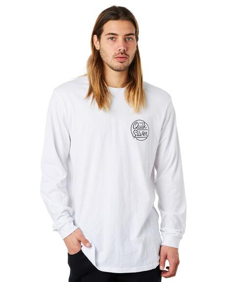 WHITE MENS CLOTHING QUIKSILVER TEES - EQYZT04870WBB0