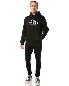 BLACK MENS CLOTHING DEPACTUS JUMPERS - D5184441BLACK