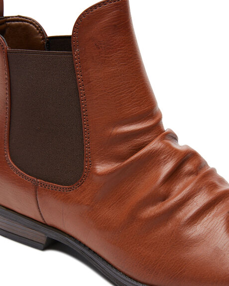 TAN WOMENS FOOTWEAR THERAPY BOOTS - 10593TAN