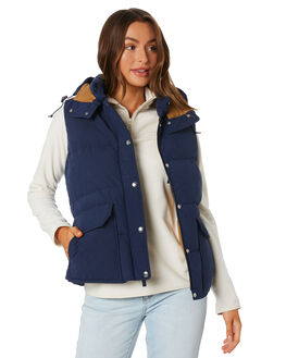 MONTAGUE BLUE WOMENS CLOTHING THE NORTH FACE JACKETS - NF0A3YSRG4M