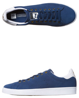 BLUE WHITE GOLD WOMENS FOOTWEAR ADIDAS ORIGINALS SNEAKERS - SSBB8744BLUW
