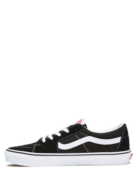 BLACK TRUE WHITE WOMENS FOOTWEAR VANS SNEAKERS - SSVN0A4UUK6BTBLKW
