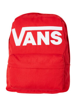 RACING RED MENS ACCESSORIES VANS BAGS + BACKPACKS - VN0A3I6RIZQRED