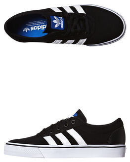 BLACK RUNNING WHITE WOMENS FOOTWEAR ADIDAS ORIGINALS SKATE SHOES - SSC75611BLKWW