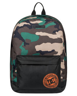 CAMO MENS ACCESSORIES DC SHOES BAGS + BACKPACKS - EDYBP03179GRW6