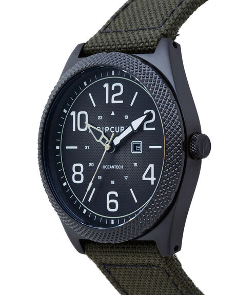 MILITARY GREEN MENS ACCESSORIES RIP CURL WATCHES - A30980854