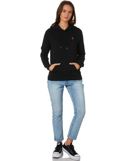 BLACK WOMENS CLOTHING VOLCOM JUMPERS - B3111901BLK