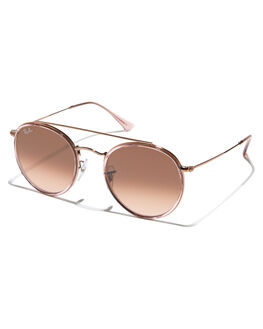 PINK WOMENS ACCESSORIES RAY-BAN SUNGLASSES - 0RB3647NPNK