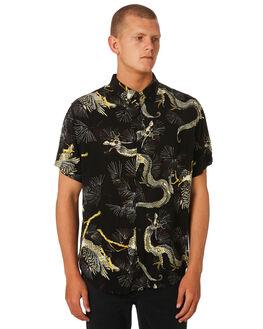BLACK MENS CLOTHING INSIGHT SHIRTS - 1000061518BLK