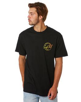 BLACK MENS CLOTHING OAKLAND SURF CLUB TEES - SS19T1002BLK
