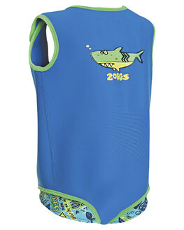 BLUE GREEN KIDS BABY ZOGGS CLOTHING - 8009170BLUGR