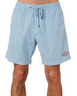 BLUE SLATE MENS CLOTHING DEUS EX MACHINA SHORTS - DMS92359BLUSL