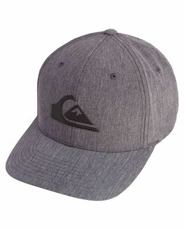 BLACK MENS ACCESSORIES QUIKSILVER HEADWEAR - AQYHA04294-KVJ0