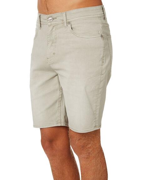 BONE TWILL MENS CLOTHING LEE SHORTS - L-606387-FT3BONE