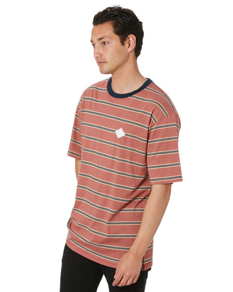 NAUTICAL STRIPE MENS CLOTHING RPM TEES - 20PM01CNSTR