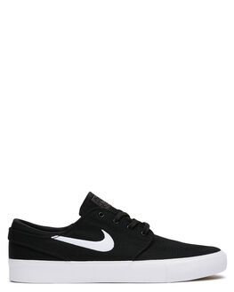 BLACK WHITE WOMENS FOOTWEAR NIKE SNEAKERS - SSAR7718-001W