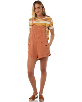 MOCCASIN WOMENS CLOTHING BILLABONG PLAYSUITS + OVERALLS - 6585502MOCC