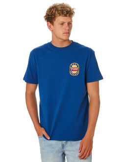 NAVY MENS CLOTHING THE CRITICAL SLIDE SOCIETY TEES - TE1844ANVY